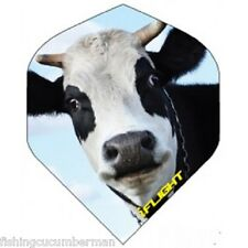 """RUTHLESS INVINCIBLE """"NOSEY COW"""" EXTRA STRONG DART FLIGHTS"""