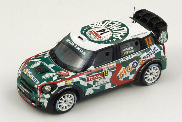 SPARK Mini John Cooper Works WRC No.14 No.14 No.14 WRC Monte Carlo 2012 P. Nobre S3352 1 43 43b59f
