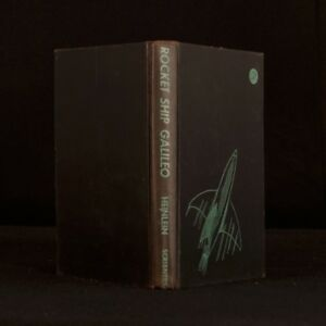 1947 Rocket Ship Galileo Robert a Heinlein First Edition Illustrated T W Voter
