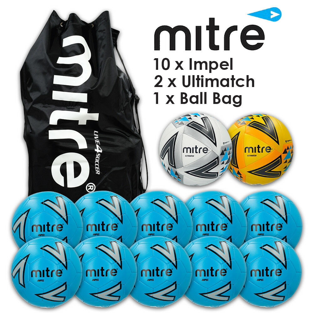 Mitre Impel Blau Matchday Ball Deal  - New 2018 Design