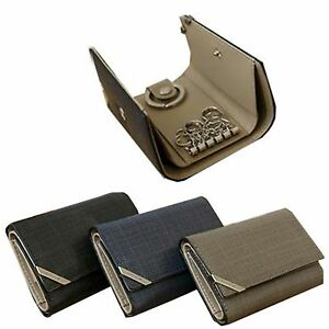 Men Key Holder Purse Man Wallet Bill Gift Items Cowhide Leather ... cc62b8094130