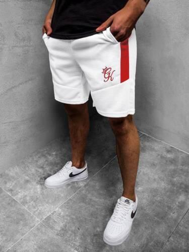 Pantalones brevemente los pantalones de deporte shorts fitness bermudas breve aerobic monocromo señores ozonee