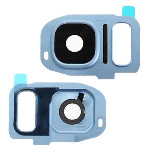 For-Samsung-Galaxy-S7-G930F-Rear-Back-Camera-Lens-Glass-Frame-Cover-Blue-G930FD