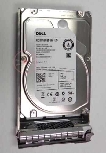 """Dell 2TB 6G 7.2K 3.5/"""" SATA 835R9 0835R9 HDD Hard Drive"""