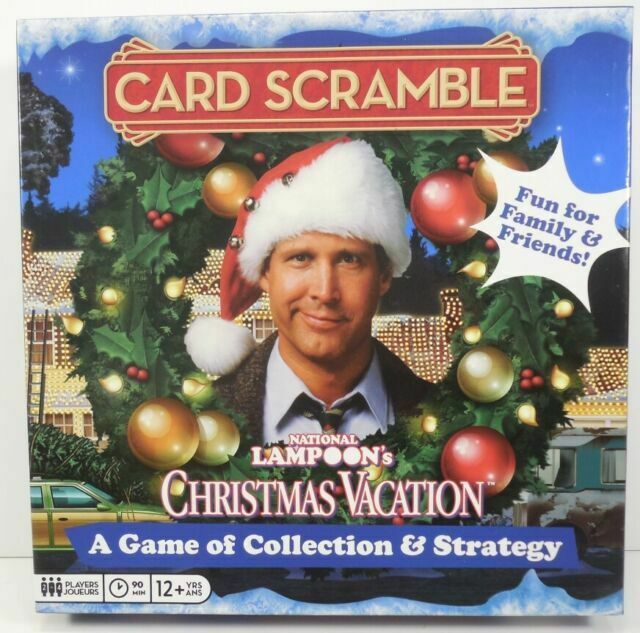 National Lampoons Christmas Vacation Card Scramble Board Game 2 4 Players 12 For Sale Online Ebay