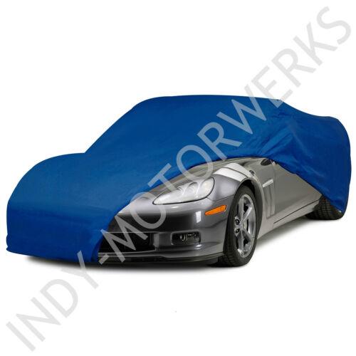 CORVETTE SEMI CUSTOM CAR COVER BLUE C6 ALL YEARS 05 06 07 08 09 10 11 12 13 NEW