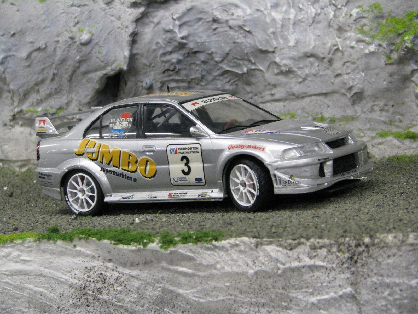 QSP Mitsubishi Lancer Evo Vl 1 24  3 Bijvelds   Bijvelds Barneveld Rally 2002