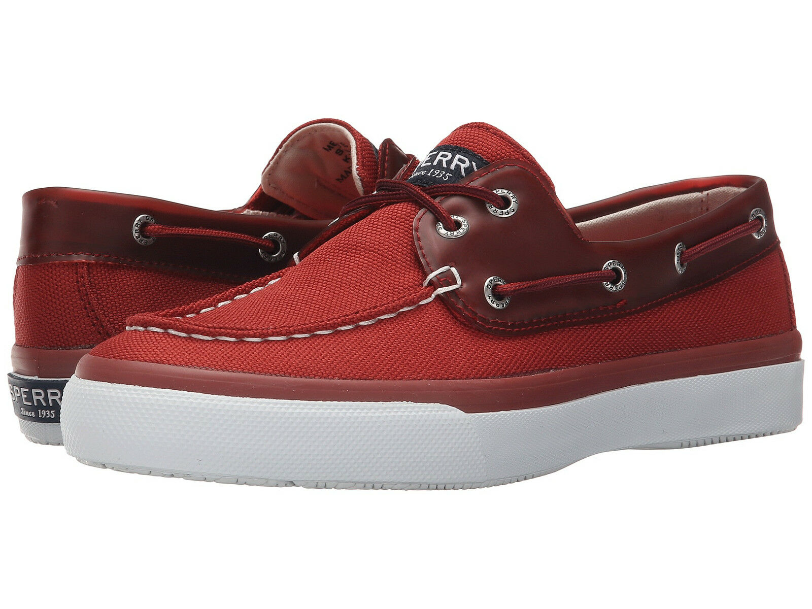 SPERRY - 2 EYE BOAT SHOES - SPERRY Uomo - RED 1cca4f