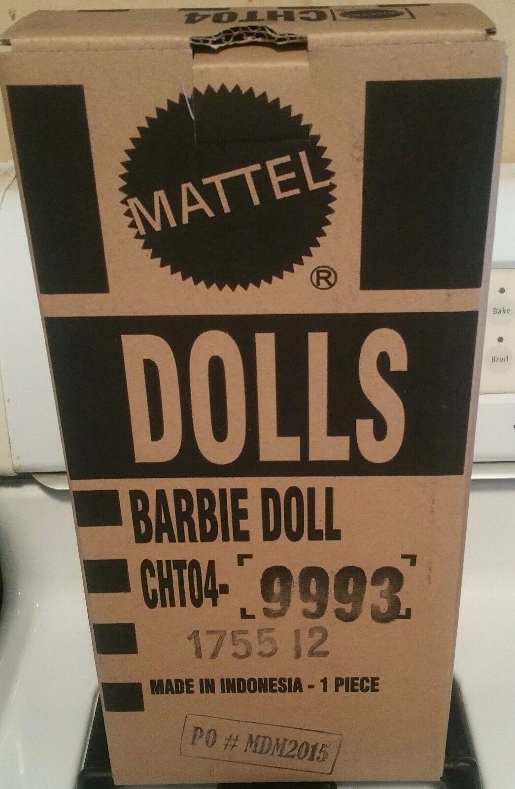 azulsh Belleza Muñeca Barbie nunca quitado de la caja de remitente BFC exclusivo bfmc Robert Best CHT04 Modelo