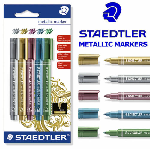 Set of 5 pens Staedtler Metallic Marker Pens 8323-S BK5