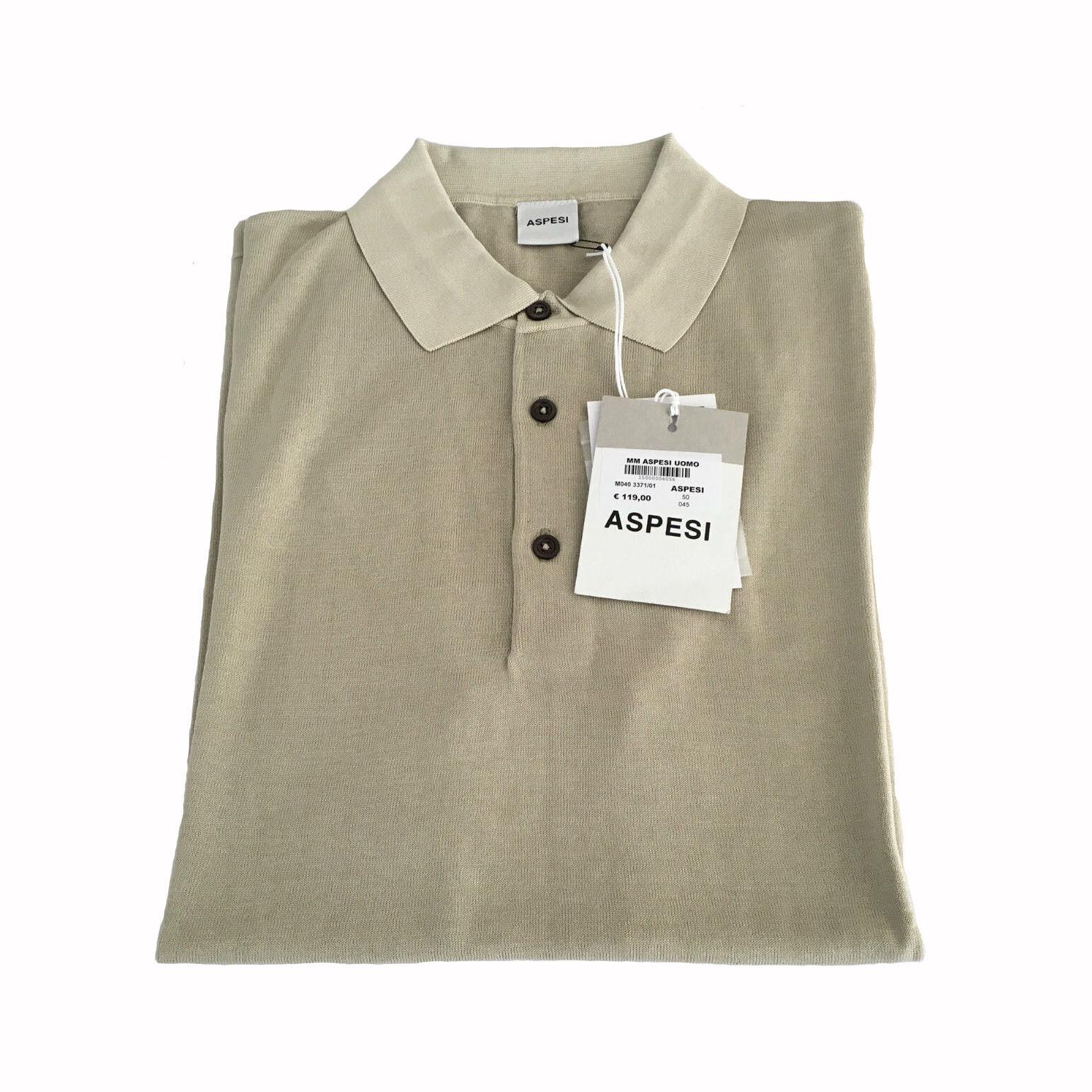 ... ASPESI polo uomo vestibilità slim cotone mod M040 100% cotone slim  05a19a 23b13e33d2e