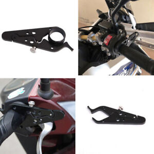 Go Cruise Universal Motorcycle Throttle Lock Cruise Control, Black Aluminum