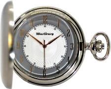 Antique Pocket Watch Mini Spring Loaded Lid 2nd Amendment Various Scull Biker