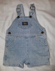c50cb8b38 Image is loading Vintage-Oshkosh-Baby-B-039-gosh-Overall-Shorts-