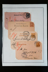 Germany-100-year-old-Underground-Stationary-Stamp-Collection