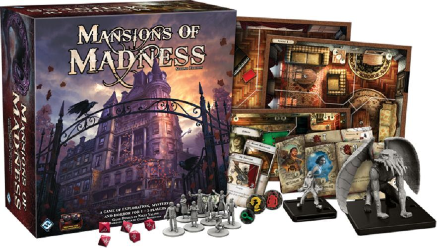 Mansions of Madness 2nd Edition Board Game - Brand New