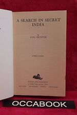 A Search in Secret India - Dr. Paul Brunton 1951 | livre | occasion | book