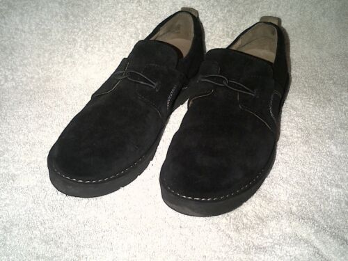 Black 5 Shoes Size Suede Clarks Ladies 6qFwfZO6S
