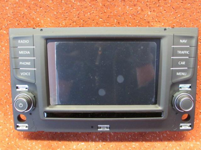 3G0919605D Discover Media Control Panel Touch Screen VW Passat B8 New Original
