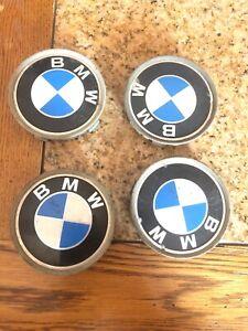 "4PCS 2.65/"" 68MM Wheel Rim Center Caps Hub Cover Fit for BMW 1 3 5 6 7 X Z Series"