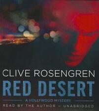 Red Desert by Clive Rosengren (2015, CD, Unabridged)