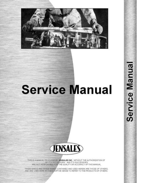Farmall Super C Tractor Service Manual 1951-1954