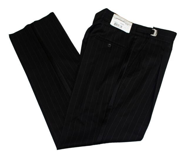 27 - 29 Long Rise Joseph Abboud Black Striped Tuxedo Pants Cheap