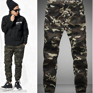 Mens-Military-Camouflage-Camo-Casual-Pants-Boy-Joggers-Sport-Sweatpants-Trousers