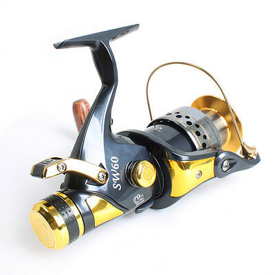9+1 Ball Bearing Carp Fishing Sea Saltwater Reel Casting Right Left Hand 5.2:1