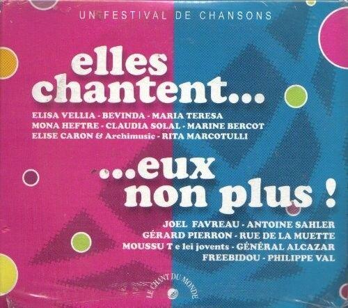 162 // COFFRET 2 CD DIGIPACK ELLES CHANTENT EUX NON PLUS NEUF