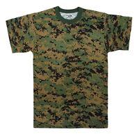 6494 Rothco Woodland Digital Camo Military Digital Camouflage T-Shirt