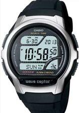 Casio Digital Atomic Waveceptor Watch, 50 Meter WR, Resin, Chronograph,WV58A-1AV