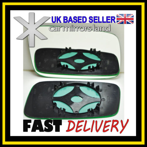 Right Driver Side Wing Mirror Glass Backing Plate CONVEX VOLVO S40 V40 95-04