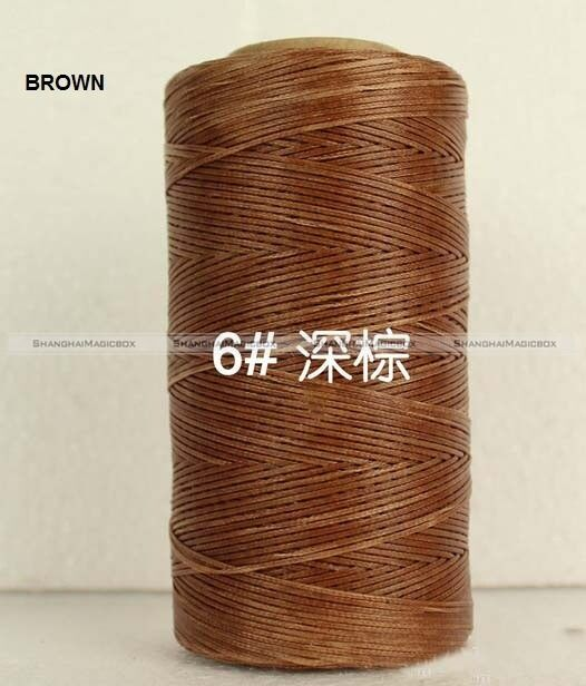 250Meter 150D 1MM Waxed Wax Thread Cord Sewing Craft Leather Stitching HOME101
