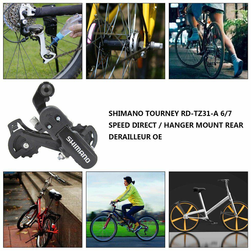 6//7 Speed  RD-TZ31 Rear Derailleurs Direct Mount Fit 6//7 Grade Freewheel