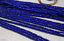2x4mm-Natural-Faceted-Sapphire-Blue-Jade-Rondelle-Gemstone-Loose-Beads-15-034-AAA thumbnail 5