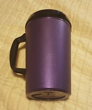 1-pcs Vintage 34oz Aladdin Insulated Travel Mug Cup with Lid (not prefect) PURPL