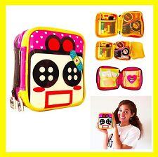 Cute Makeup Bag Pink Pencil Pen Case Girl Cosmetic Organizer Purse Brush Pouch