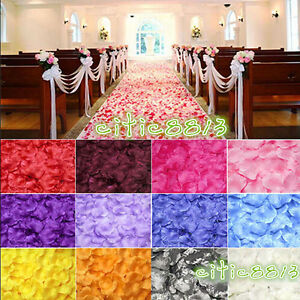 1000-PCS-FLOWER-ROSE-PETALS-WEDDING-PARTY-TABLE-DECORATION-FLORAL-CONFETTI-DECOR
