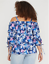 LANE-BRYANT-WOMENS-RUCHED-SLEEVE-OFF-SHOULDER-TOP-Plus-14-16-18-20-22-24-26-28 thumbnail 5
