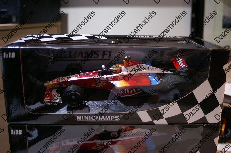 Minichamps Williams F1 FW21 180 990006 1 18 R.Schumacher
