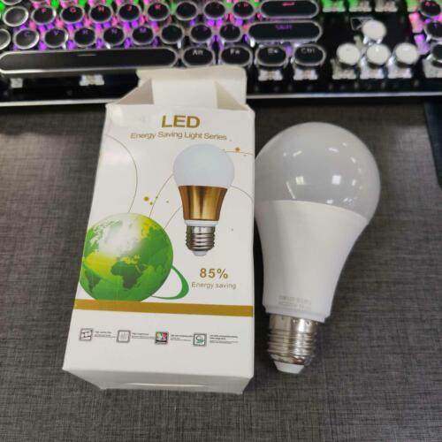5//7//9//12W LED Globe Bulb E27 Radar Sensor Ambient PIR Motion Light Lamp US