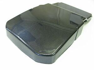 Ford focus carbon fiber abs plastic battery cover mk2 rs st 7m51 image is loading ford focus carbon fiber abs plastic battery cover sciox Image collections