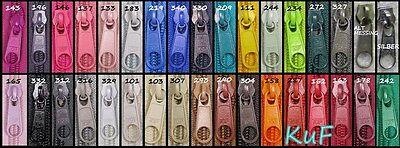 15 Zipper für Reißverschluss endlos #5 Spirale