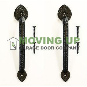 Garage Door Decorative Spear Pull Handles 10 Quot Cast Iron