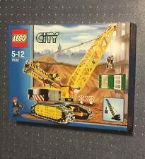 Lego City Construction Crawler Crane (7632)