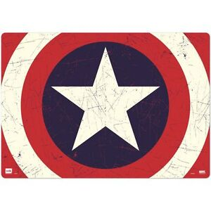 sous main captain america plastique prot ge bureau desk blotter ebay. Black Bedroom Furniture Sets. Home Design Ideas