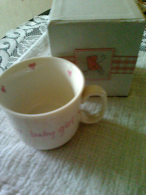 Temperate Kitted Out Baby Girl Pink Cup Christening ~ 4.99p No Reserve Mug Birth