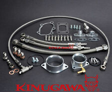 Kinugawa Oil & Water Kit FOR Nissan Skyline R30 DR30 FJ20ET w/ Garrett GT2860RS