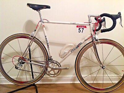 """Premuroso Splendido 1987 Team Paganini In Acciaio Bici Da Corsa Columbas Slx Campagnolo Record 58""""- Design Moderno"""